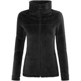 Meru W's Nunavut Hooded Teddy Fleece Jacket Black